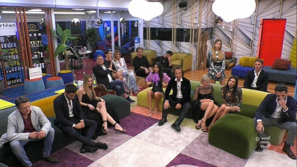 I concorrenti della dodicesima puntata del Gf Vip