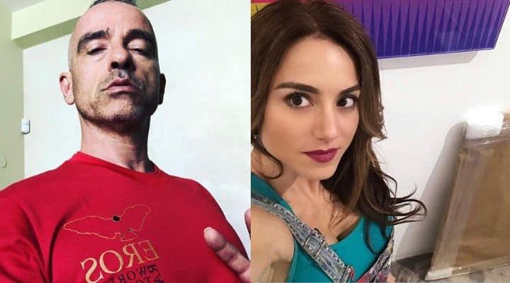 Eros Ramazzotti e Valentina Bilbao