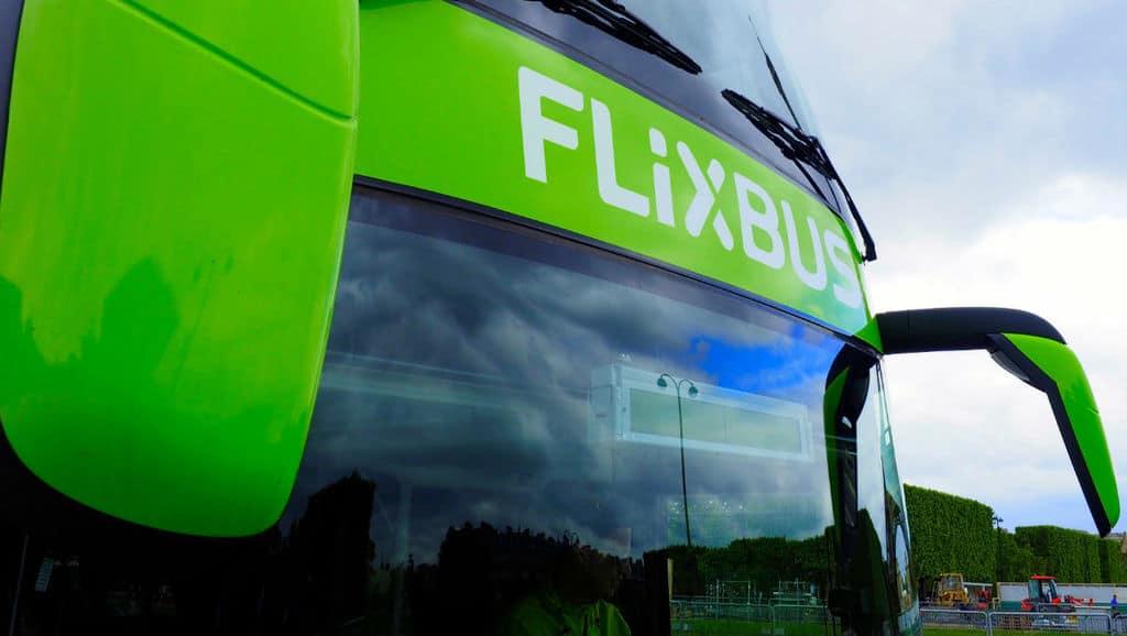 flixbus, vetro anteriore