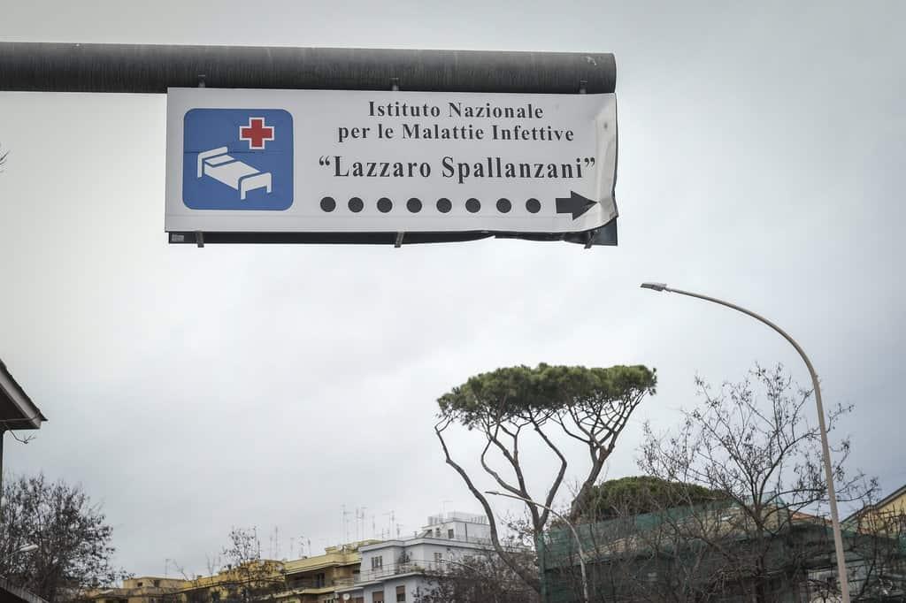 cartello che indica lo spallanzani