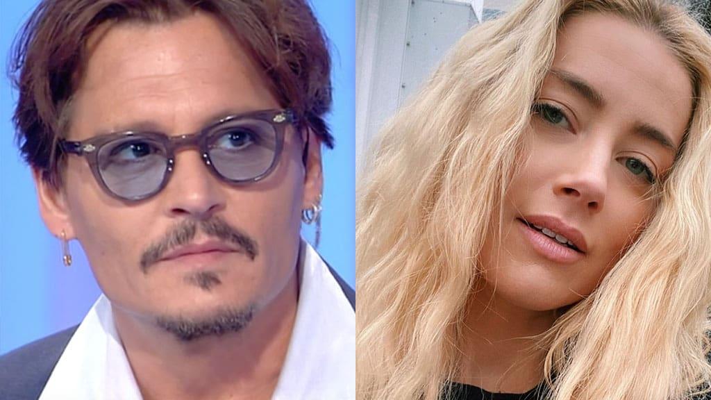 Johnny Depp picchiato da Amber Heard. L'audio choc dell'ex moglie