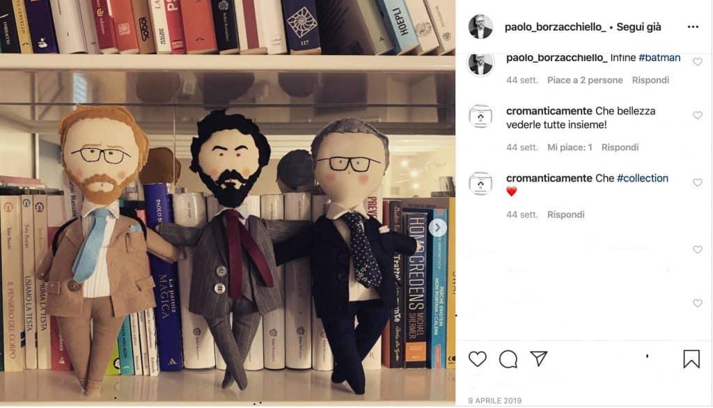 I personaggi de La Parola Magica, post tratto da Instagram
