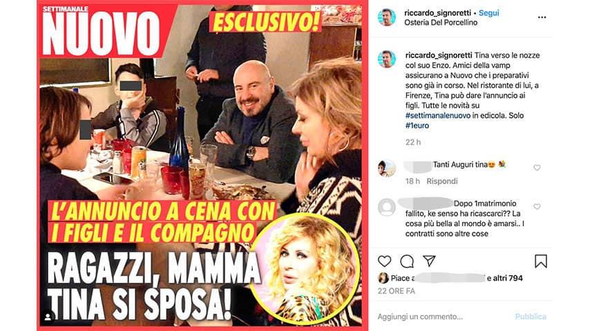 Post di Riccardo Signoretti su Instagram