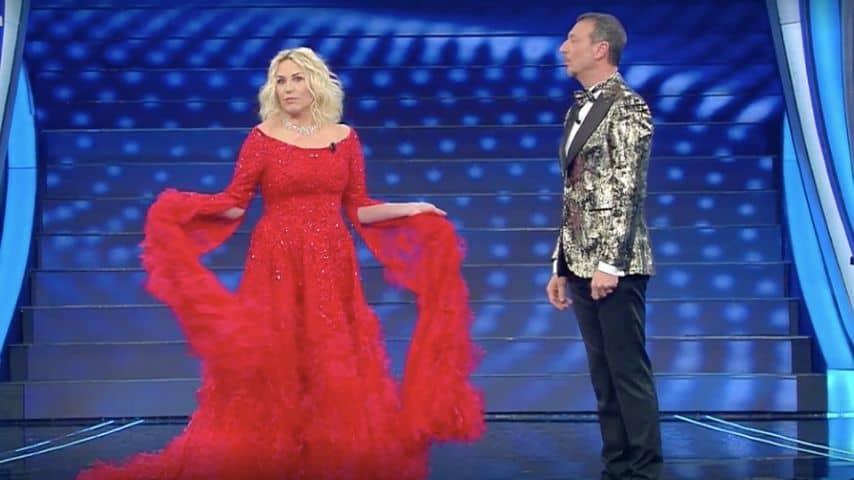 Antonella Clerici e Amadeus