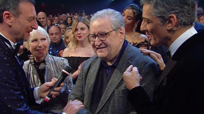 Amadeus, Vincenzo Mollica e Fiorello in platea