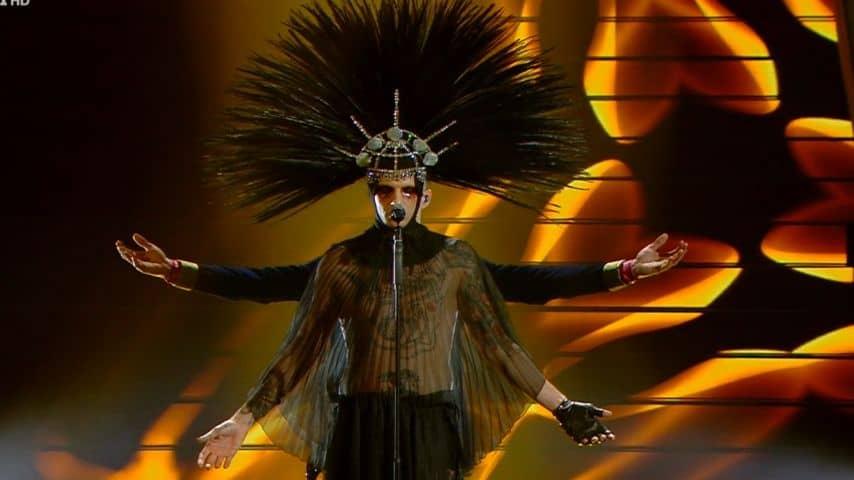 Achille Lauro, nuovo show a Sanremo