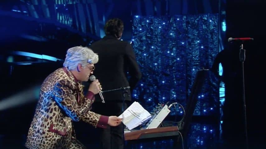 Bugo abbandona Morgan e il palco durante l'esibizione