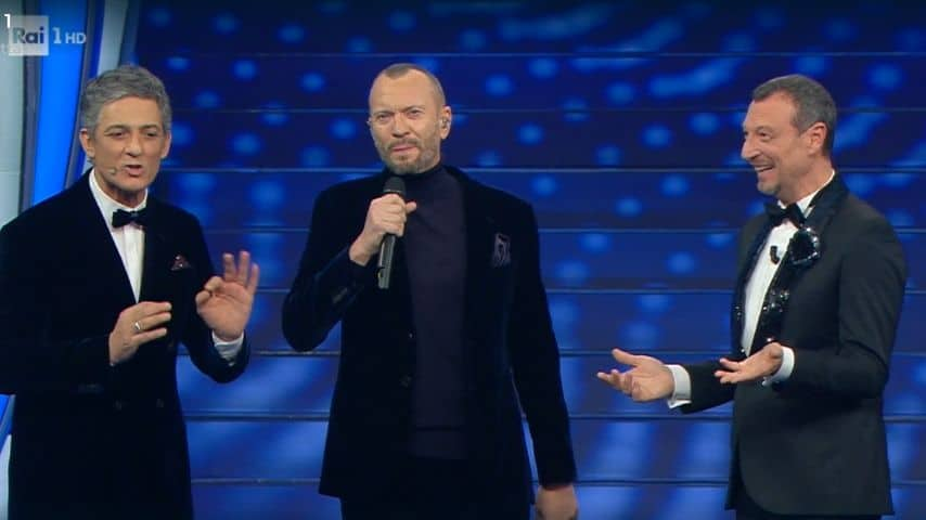 Fiorello, Biagio Antonacci e Amadeus