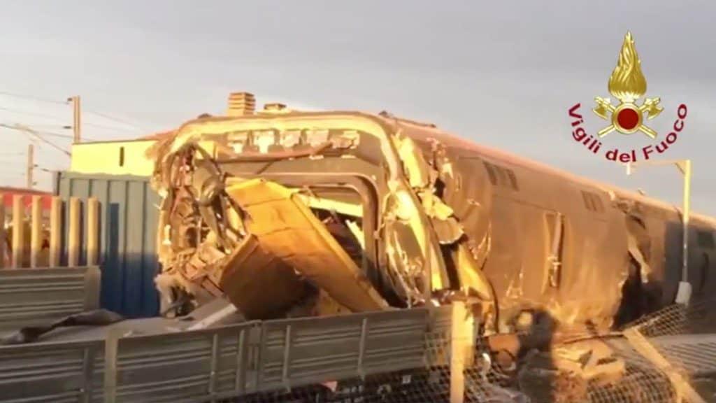 Lodi, treno deragliato: 18 indagati per il disastro ferrovia
