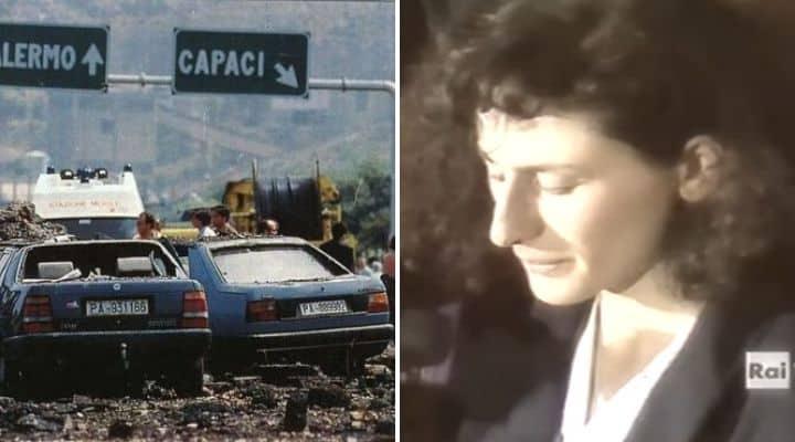 Rosaria Costa, vedova di Vito Schifani, morto nella strage di Capaci