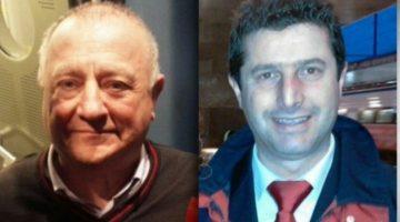 I macchinisti Mario Di Cuonzo e Giuseppe Cicciù