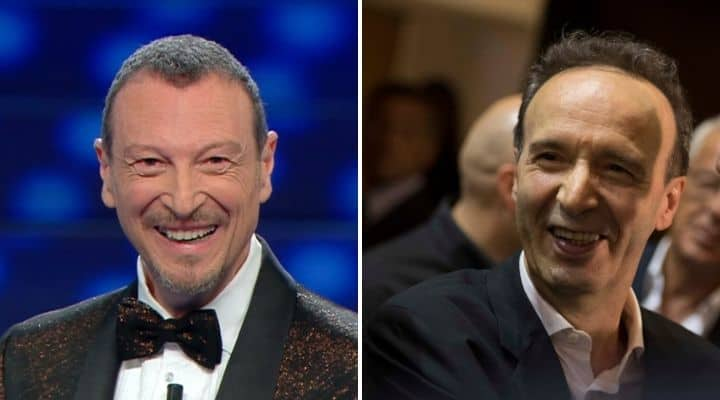 Amadeus e Roberto Benigni