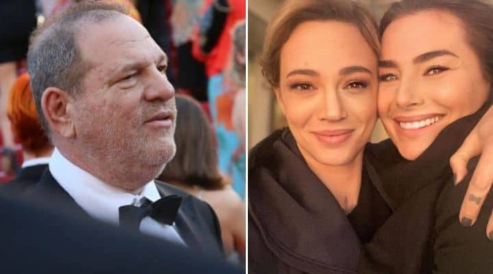 Harvey Weinstein e Asia Argento