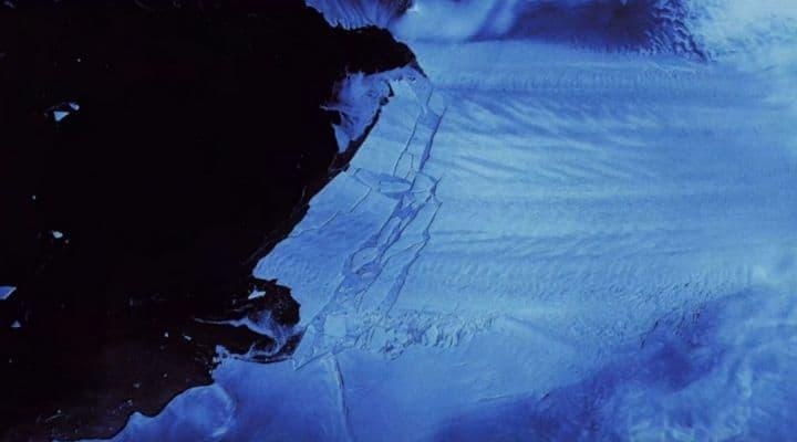 Pine Island Glacier in Antartide