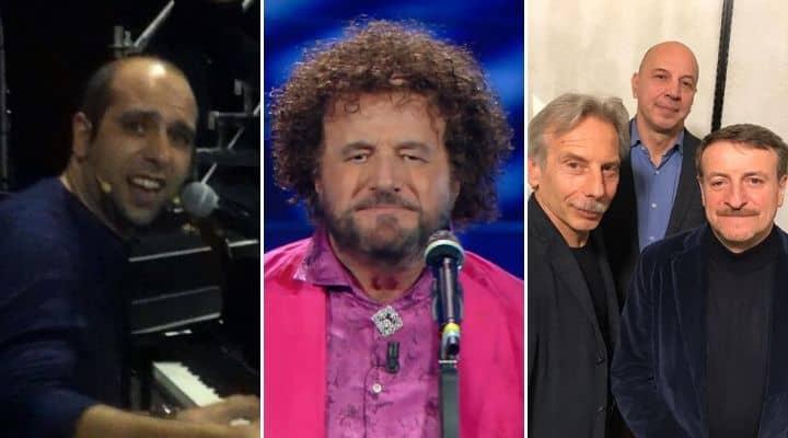 Checco Zalone, Christian De Sica, Aldo Giovanni e Giacomo