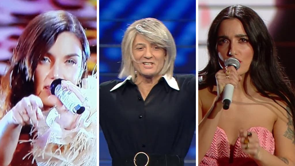 LE pagelle di Sanremo seconda serata