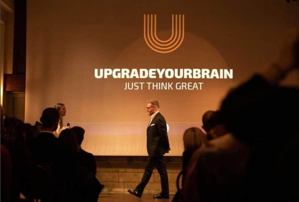Paolo Borzacchiello all'evento dedicato di Upgradeyourbrain