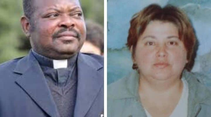 Padre Gratien Alabi e Guerrina Piscaglia