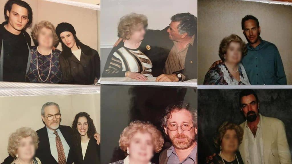 foto all'interno di un album fotografico