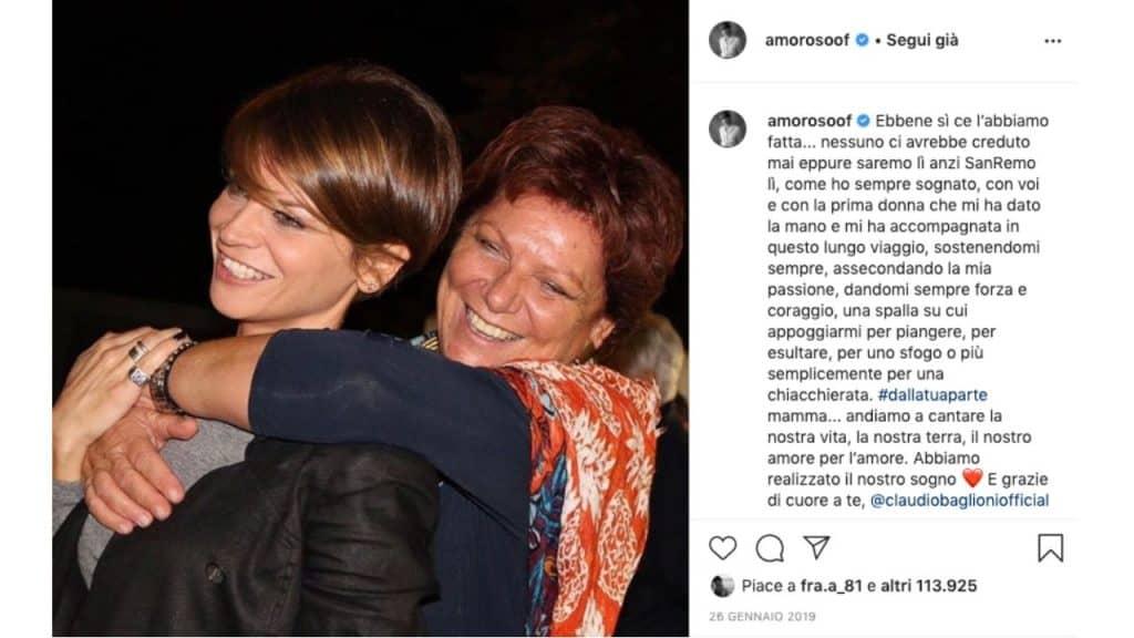 post pubblicato da Alessandra Amoroso su Instagram