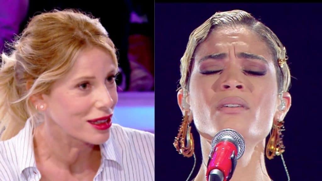 "Alessia Marcuzzi difende Elodie: ""Insultare una donna magra"