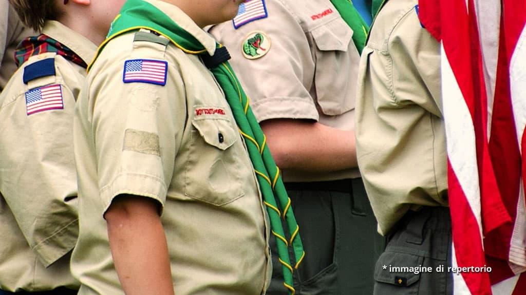 bambini boy scout