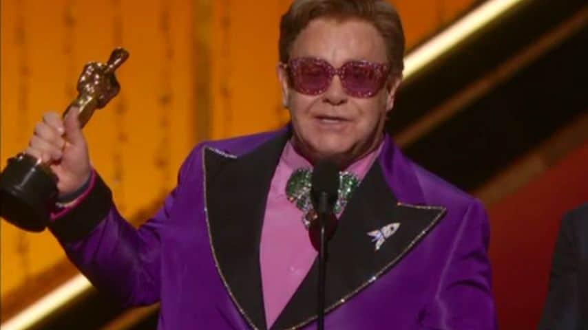 Elton John agli Oscar 2020