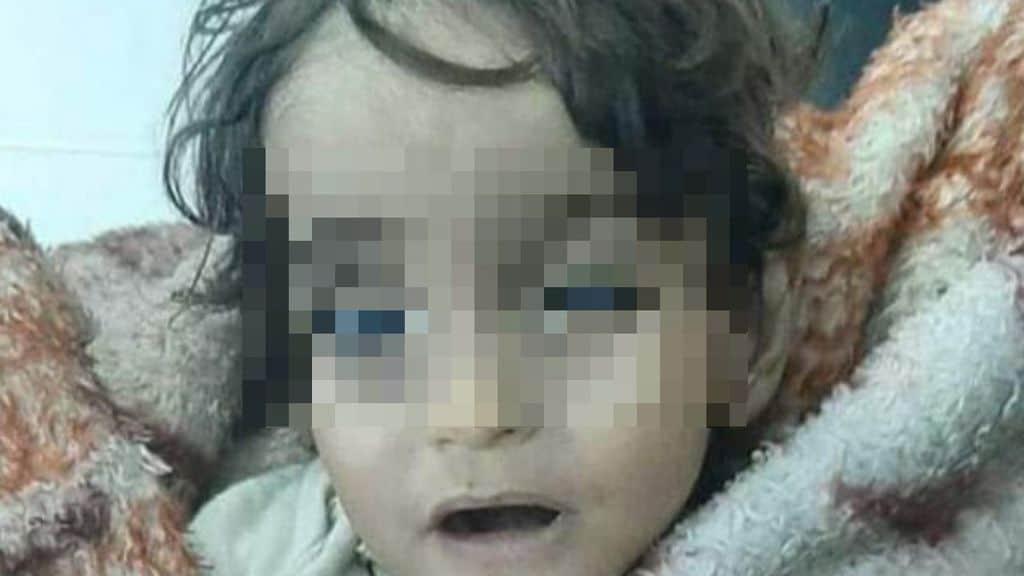 iman morta di freddo siria
