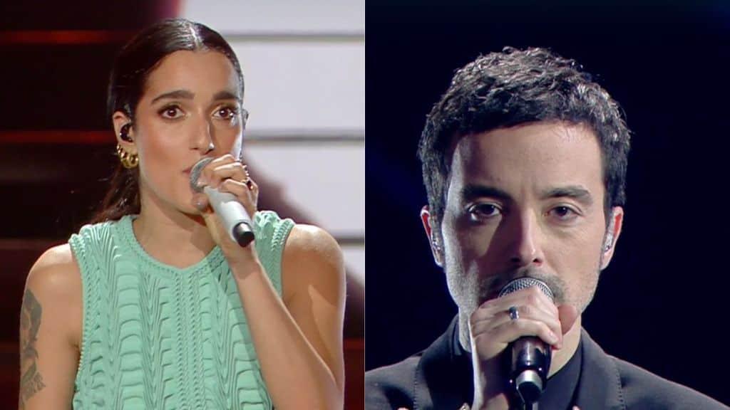 Levante e Diodato sul palco di Sanremo