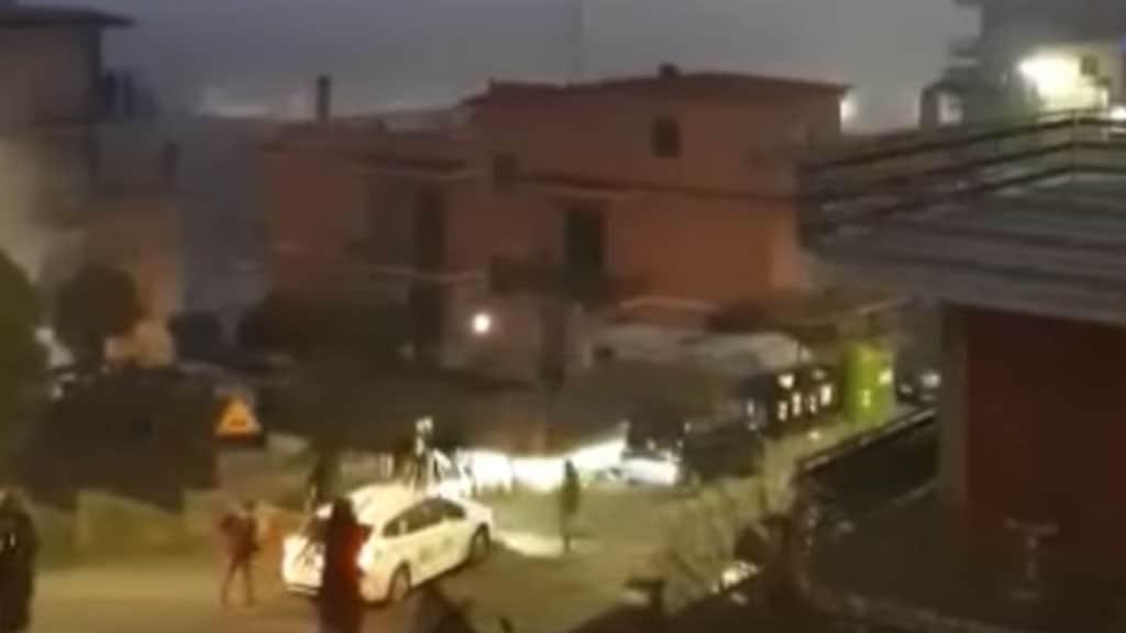tassista aggredito a Roma