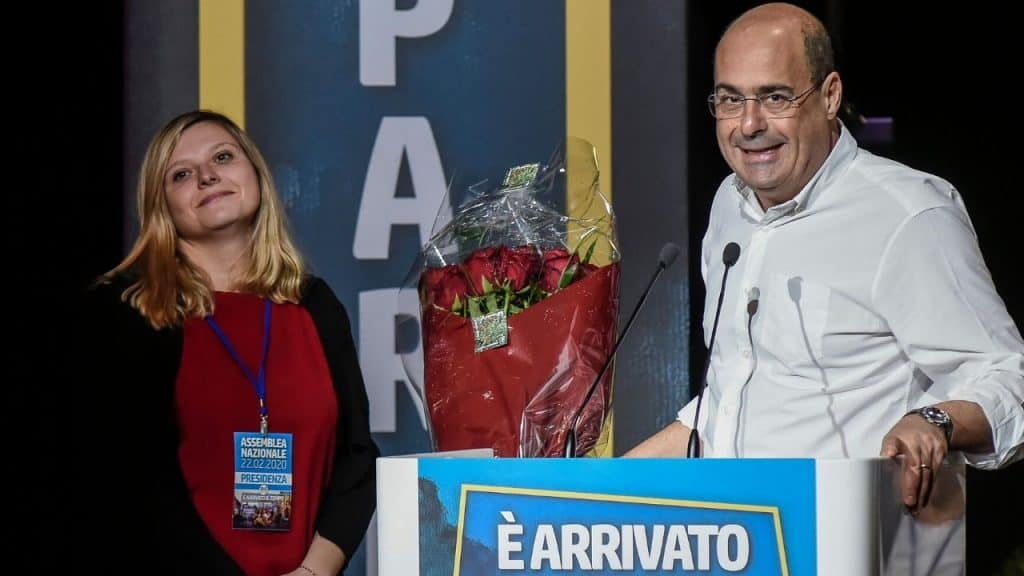 """PD, Valentina Cuppi eletta presidente. Zingaretti: """"Sminare"""