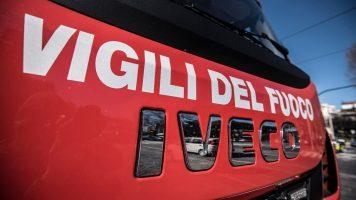 camionetta dei vigili del fuoco