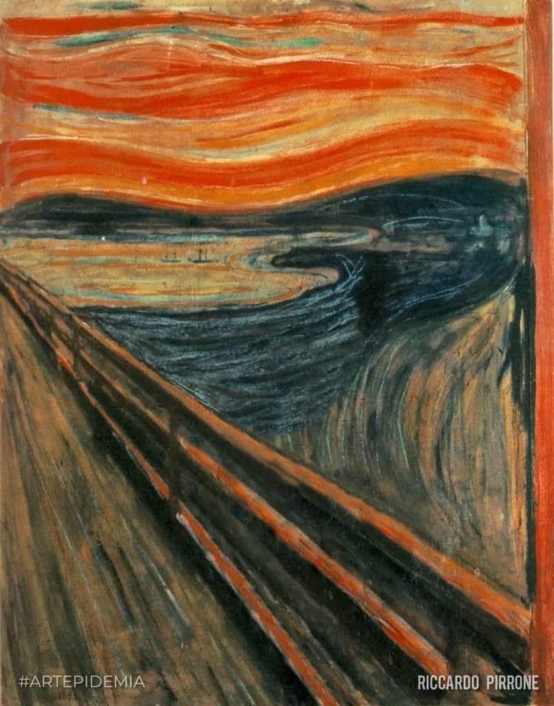 L'urlo di Munch di Pirrone