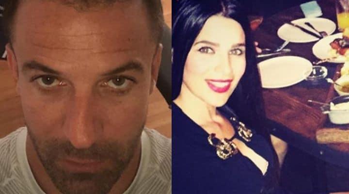 Alessandro Del Piero e Sonia Amoruso