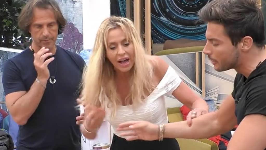 Antonio Zequila, Valeria Marini e Andrea Denver