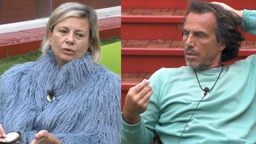 Antonella Elia discute con Antonio Zequila
