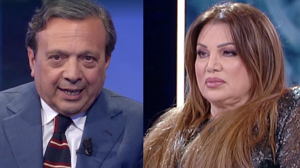 Piero Chiambretti e Serena Grandi