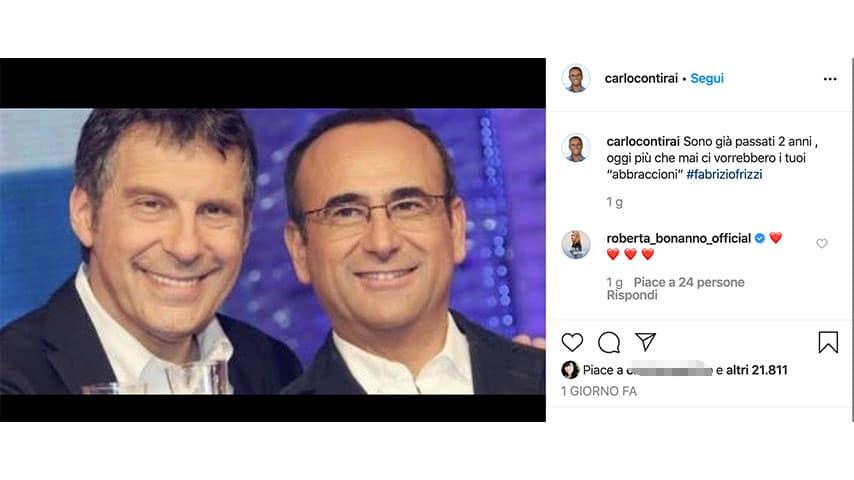 Post di Carlo Conti su Instagram