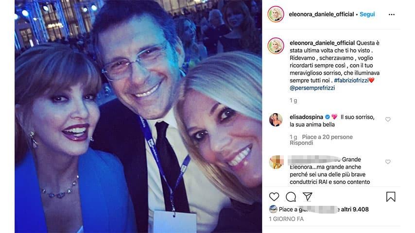 Post di Eleonora Daniele su Instagram