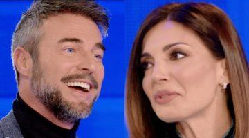 Flavio Montrucchio e Alessia Mancini a Verissimo
