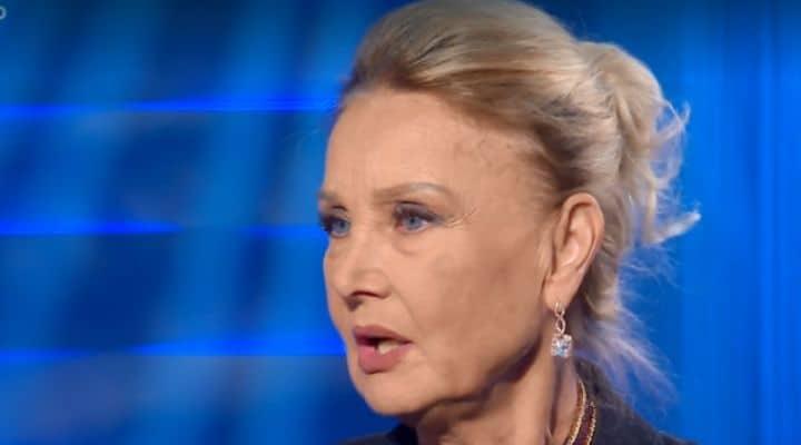 Barbara Bouchet a Domenica In