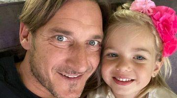 Francesco Totti auguri figlia Isabel