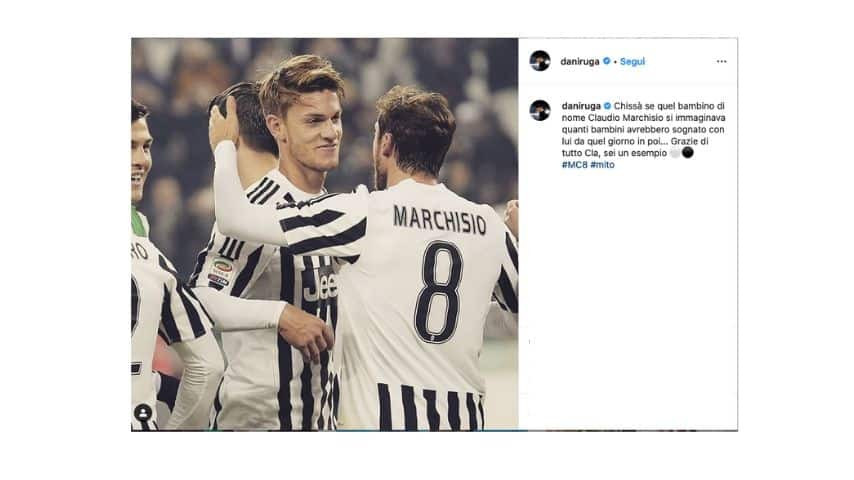 Daniele Rugani su Instagram