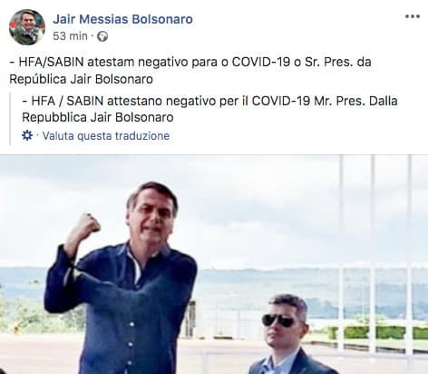 Post di Jaim Bolsonaro