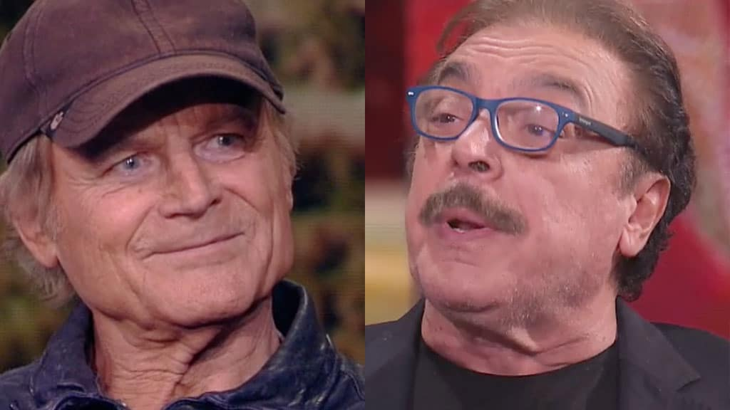 Terence Hill e Nino Frassica