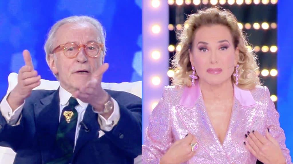 Vittorio Feltri e Barbara d'Urso