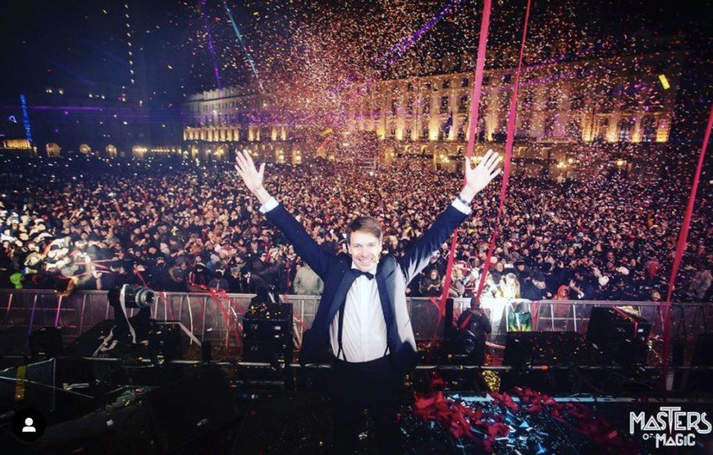 Walter Rolfo e Masters of Magic a Capodanno in piazza a Torino