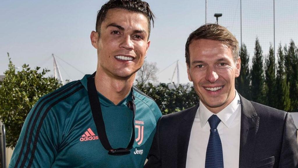 Walter Rolfo e Cristiano Ronaldo