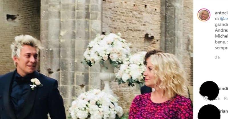 Lutto per Andrea Mainardi, è Antonella Clerici a dare la dolorosa notizia