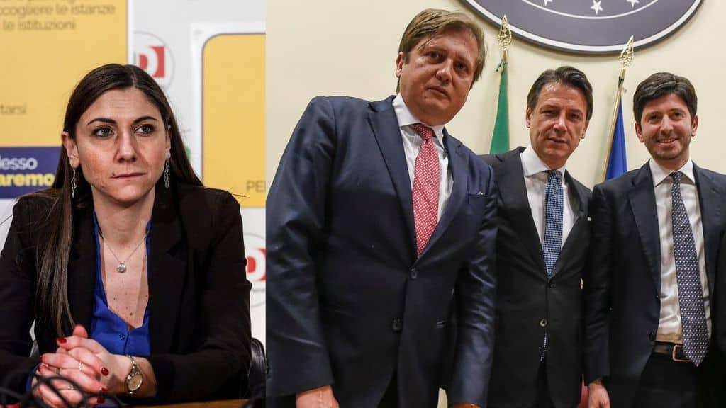 anna ascani e Pierpaolo Sileri sileri